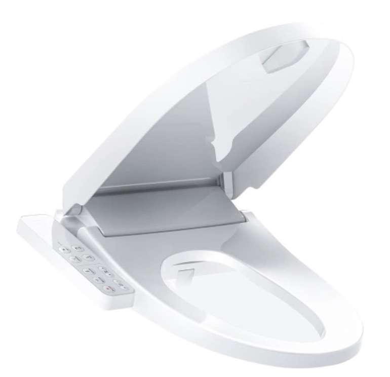 Smartmi Smart Toilettensitz (elektronisch beheizt, Bidet Spray mit LED-Nachtlicht) für 152,99€ inkl. Versand (statt 200€)