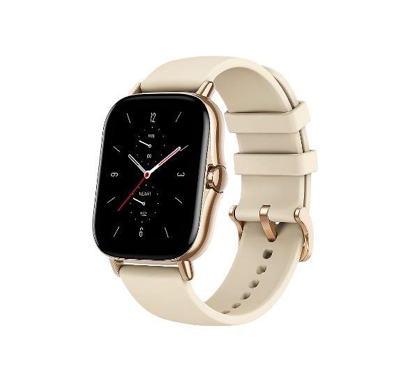 "Amazfit GTS 2 Smartwatch in Gold (1.65"" OLED-Display, Bluetooth 5.0, GPS, 246mAh) für 108,99€ (statt 125€)"