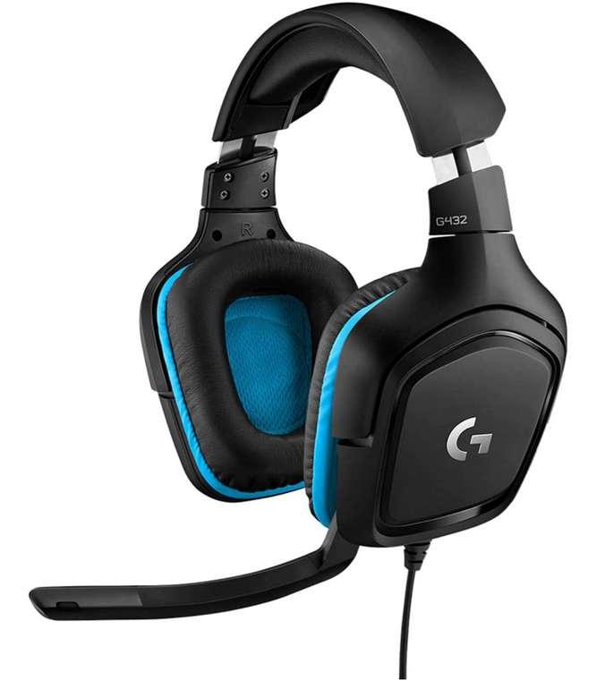 Logitech G432 kabelgebundenes Gaming-Headset mit 7.1 Surround Sound für 37,99€inkl. Versand (statt 43€)