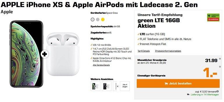 Apple iPhone XS Vodafone 16GB LTE 2