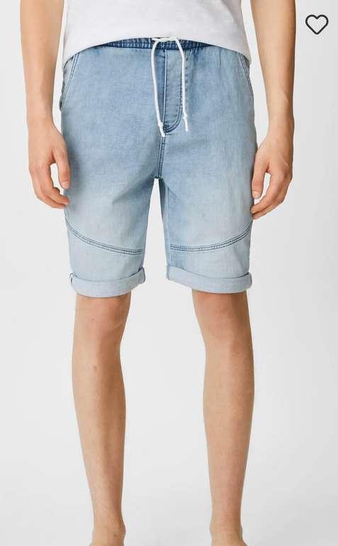 C&A Clockhouse Jeans-Shorts Jog Denim in Blau für 14,99€inkl. Versand (statt 25€)
