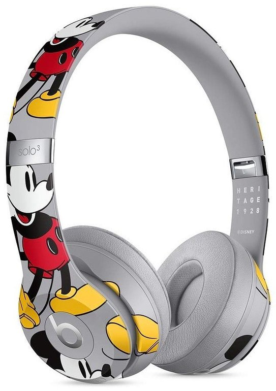 Beats Solo 3 Wireless On-Ear Kopfhörer (Mickey 90th Anniversary Edition) 199€