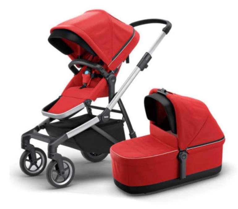 Thule Sleek Kombikinderwagen inklusive Babywanne für 776,65€ inkl. Versand (statt 1.100€)