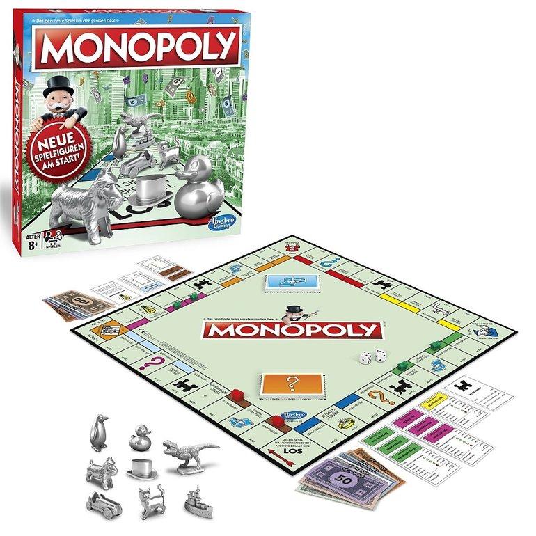 Monopoly - Das Original mit neuen Spielfiguren für 19,74€ inkl. Versand
