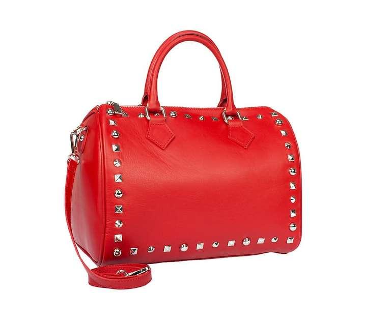 MyMo Damen Handtasche in rot für 85,66€ inkl. Versand (statt 107€)