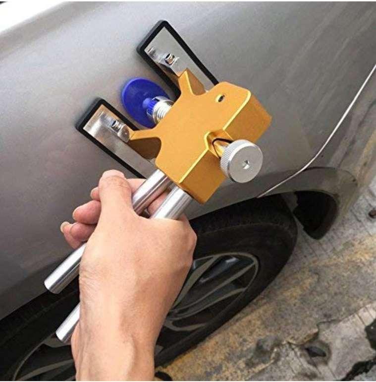 Auto Werkzeug: KKmoon KFZ Dellen Reparaturset (Abzieher + 18 Tabs) für 11,99€ mit Prime!