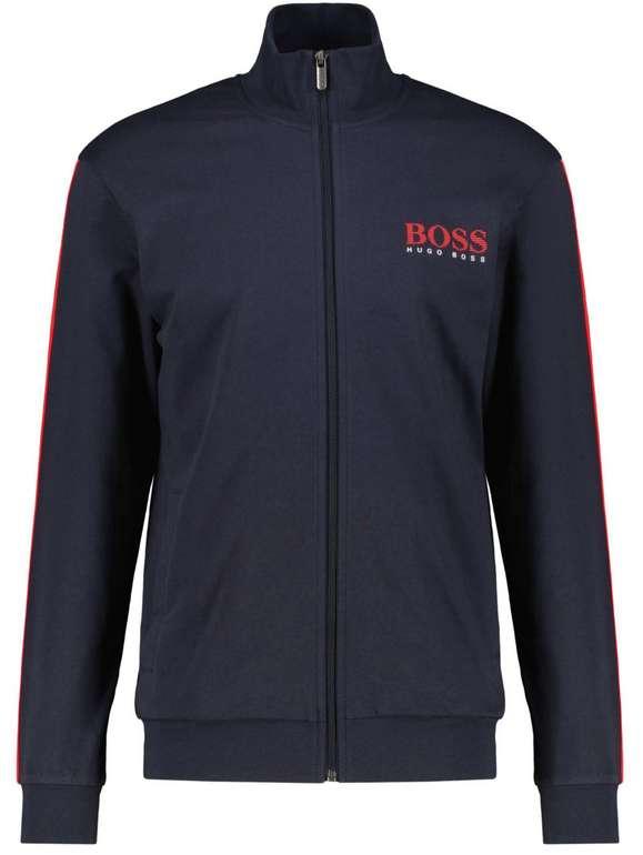 """Boss Herren Loungewear-Sweatjacke """"Authentic Jacket Z"""" für 57,72€ inkl. Versand (statt 90€)"""