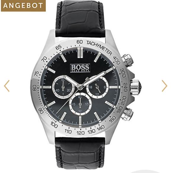 Christ: -60% auf Schmuck + 20% Extra, z.B. Boss Chronograph 135,12€ (statt 170€)