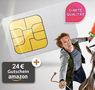 Telekom Klarmobil Smart 400 (100 Minuten + 400MB) nur 2,99€ mtl. + 24€ Amazon