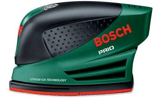 Bosch Prio Multi Schleifmaschine (kabellos 10,8 LI) für 39,99€ inkl. Versand