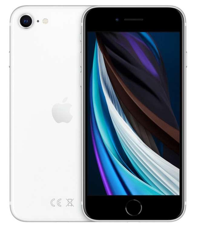 Apple iPhone SE 64GB (2020) in weiß für 420,21€ inkl. Versand (statt 450€)