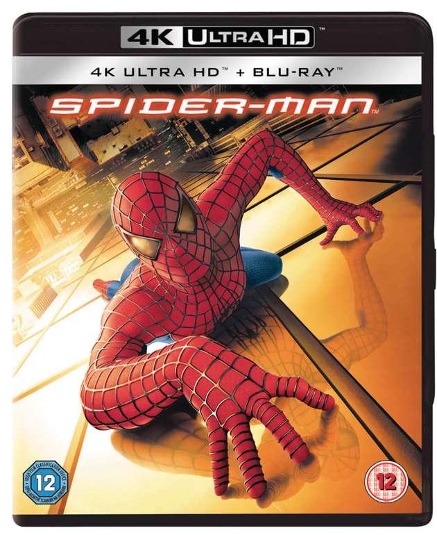 Zavvi: 3x 4K BluRay für nur 33,49€ - z.B Spider-Man, Men In Black II, Terminator Salvation