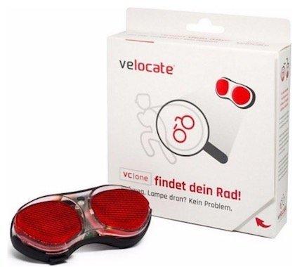 Velocate Rücklicht mit GPS-Tracker gegen Diebstähle + Datentarif für 104,99€