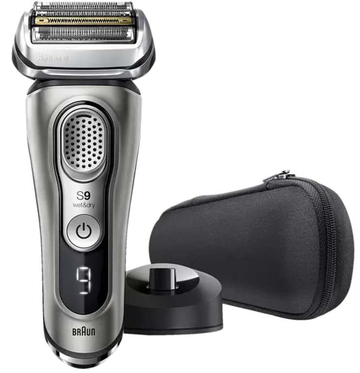 Braun Series 9 9325S  - Elektrischer Rasierer mit bis zu 60 Min Laufzeit für 189,11€ (statt 239€)