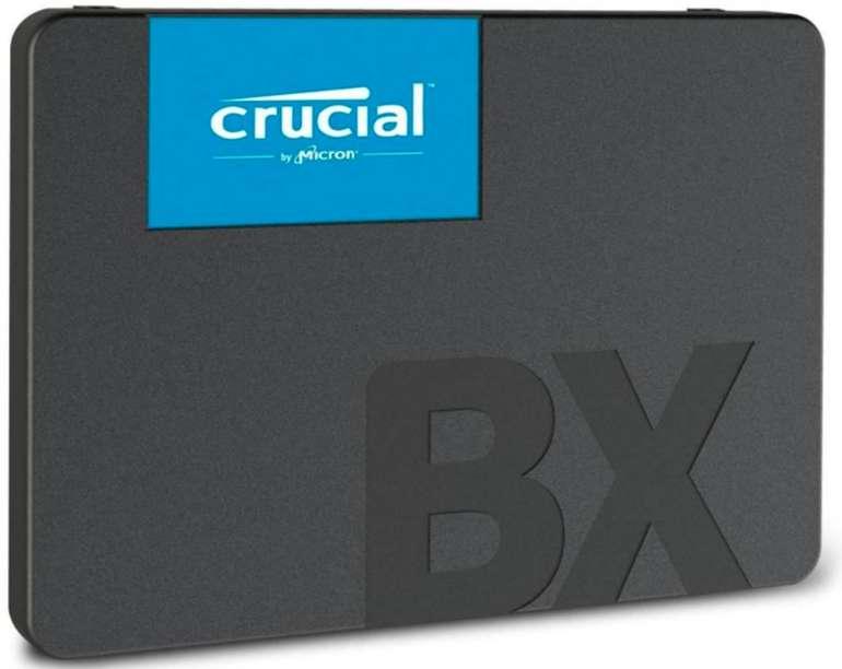 Crucial BX500 – 2,5 Zoll SSD mit 480GB Speicherplatz für 48,99€ inkl. VSK (statt 54€)