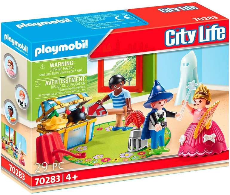 Playmobil City Life - Kinder mit Verkleidungskiste (70283) für 5€ inkl. Prime Versand (statt 9€)