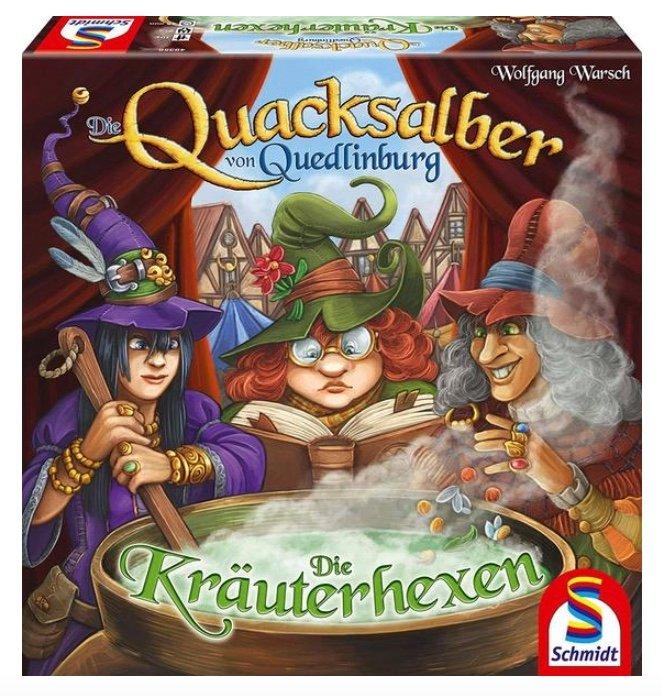 Die Quacksalber von Quedlinburg - Die Kräuterhexen (Erweiterung) für 11,49€ (statt 16€) - Thalia Club!