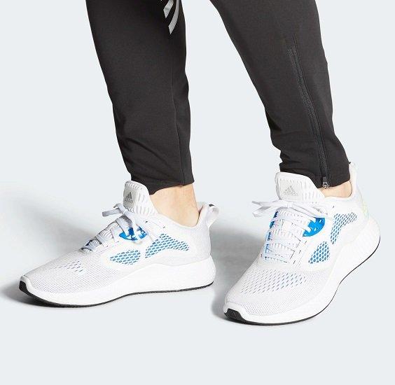 Adidas Edge RC 3 Sneaker in Cloud White / Signal Green / Glow Blue für 31,98€ (statt 69€)