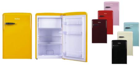 """Amica Retro Kühlschrank """"KS 15610-16"""" (A++, mit Gefrierfach, 13 l Nutzinhalt) für 203,90€ inkl. Versand (statt 239€)"""