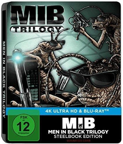 Men in Black 1-3 Steelbook 4K Blu-ray für 34€ inkl. Versand (statt 43€) - Preisvorschlag