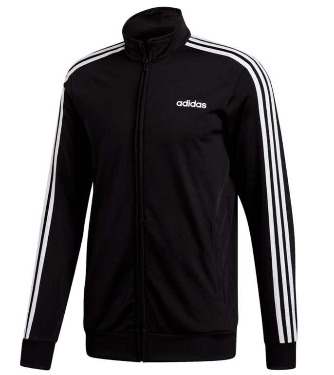 adidas Freizeitjacke Essentials 3S Tricot Track Top in schwarz für 31,95€ inkl. Versand (statt 37€)