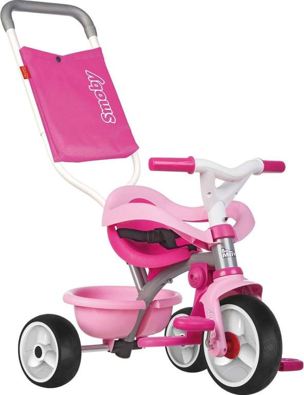 Smoby Dreirad - Be Move Komfort Rosa für 28,63€ inkl. Versand (statt 37€)