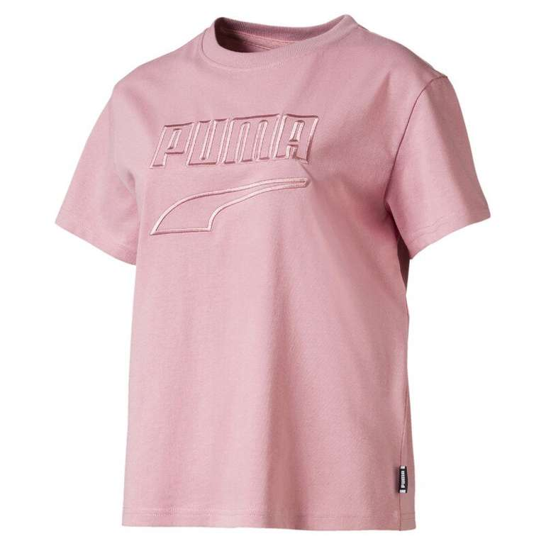 Puma Damen T-Shirt 'Downtown' in altrosa für 12,75€ inklusive Versand (statt 30€)
