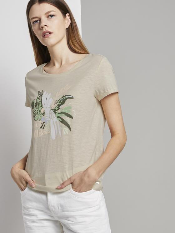 Tom Tailor Denim T-Shirt mit Brustprint in 5 verschiedenen Farben für je 9,48€ inkl. Versand (statt 22€)