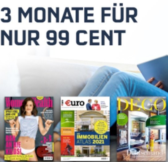 3 Monate Readly Magazin-Flat für einmalig 0,99€ + 5€ Amazon Gutschein