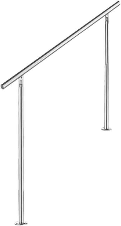 Wolketon Edelstahl Handläufe reduziert, z.B. 150cm ohne Querstreben für 41,99€