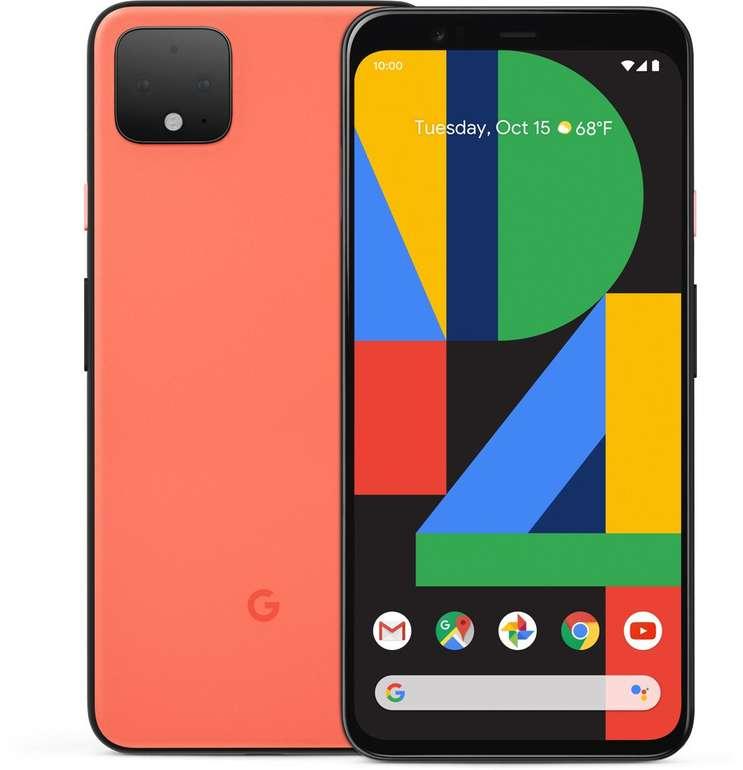 Google Pixel 4 mit 64GB (+ 99€) inkl. o2 Allnet-Flat mit 10GB LTE für 29,99€ mtl.