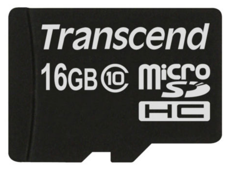 Transcend Micro SDHC 16GB Speicherkarte Class 10 für 2,99€ inkl. Versand