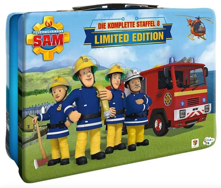 Feuerwehrmann Sam - Staffel 8 (Metallkoffer) (5 Discs) DVD für 12,98€ inkl. Versand (statt 33€)