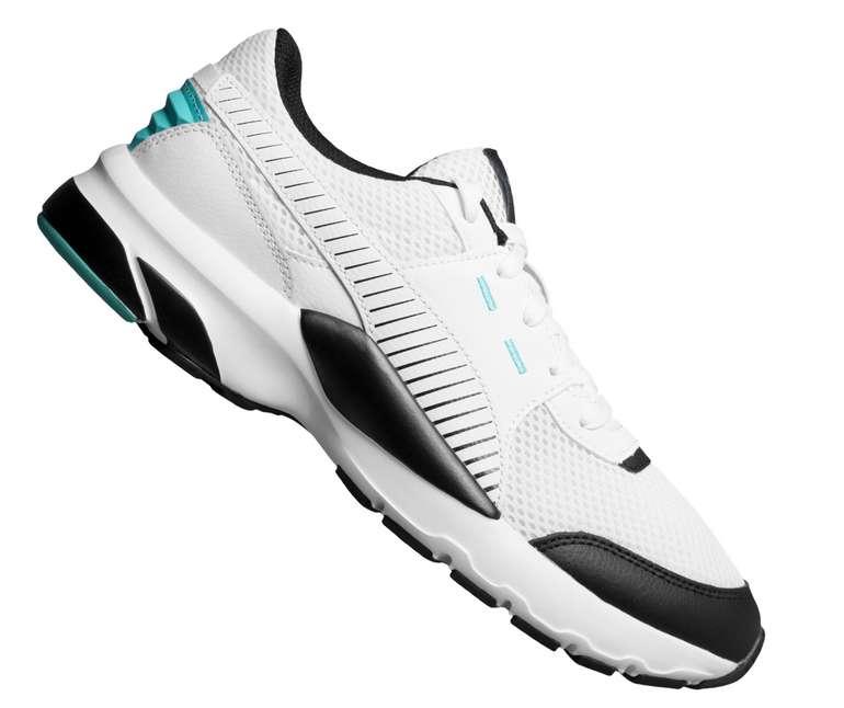 Puma Future Runner Premium Sneaker in weiß für 39,94€ inkl. Versand (statt 60€)