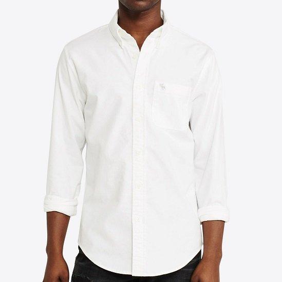 Abercrombie & Fitch Hemd Icon Core Oxford für 34,11€ (statt 48€)