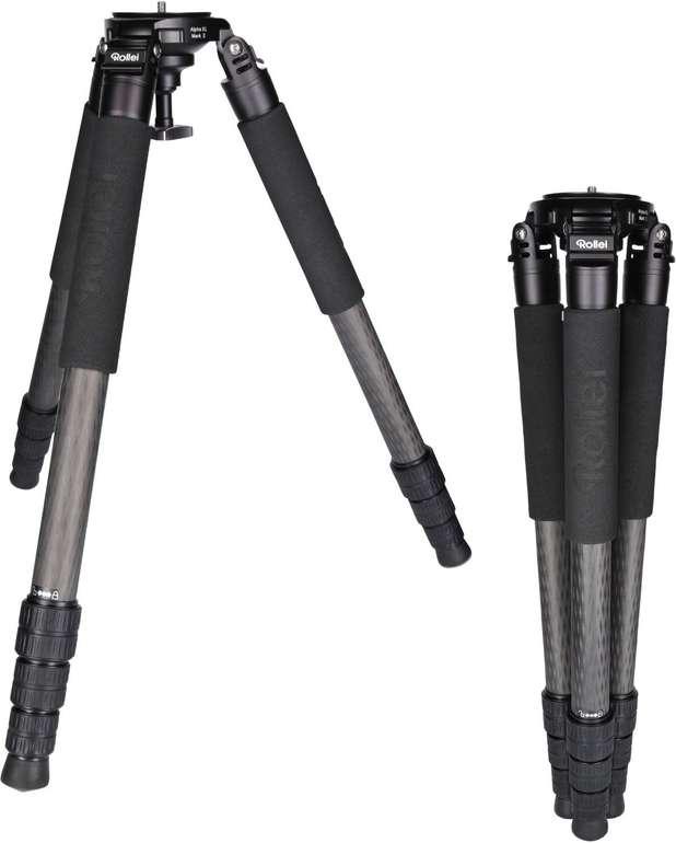 Rollei Rock Solid Alpha XL Mark II Carbon Stativ für 349€ inkl. Versand (statt 444€)