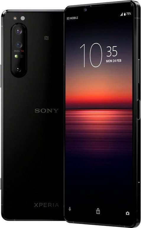 Sony Xperia 1 II 256GB (+ 59,99€) inkl. Simply o2-Allnet-Flat mit 1GB für 33,99€ mtl.