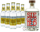 Siegfried Rheinland Dry Gin (0,5l) + 5 Fever-Tree Tonic Water (0,2 L) für 27,80€