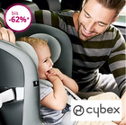 "Cybex Sale bei Limango - z.B. Kindersitz ""Pallas S-Fix"" in Rot für 164,94€"