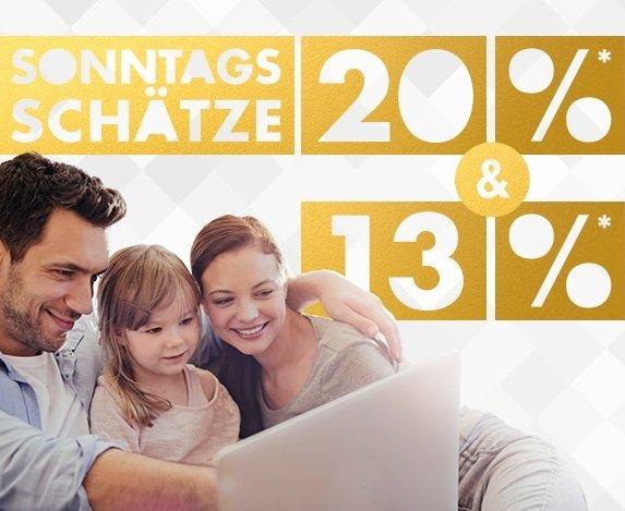 Galeria: Sonntags-Schätze, z.B. 13% Rabatt auf Spielzeug