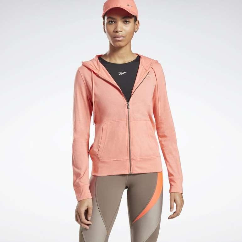 Reebok Identity Jersey Zip Up Damen Hoodie für 28,80€ inkl. Versand (statt 45€)