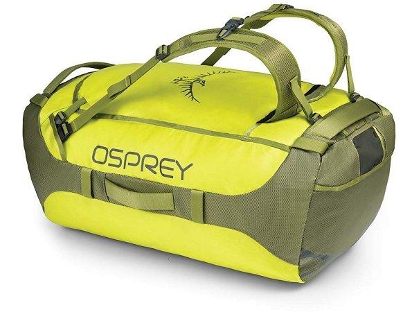 Osprey Transporter 95 Reisetasche (Duffel Bag) in Sub Lime 69,84€ (statt 120€)