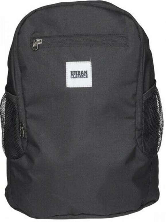 Urban Classics Foldable Rucksack in Schwarz für 8,07€ inkl. Versand (statt 14€)