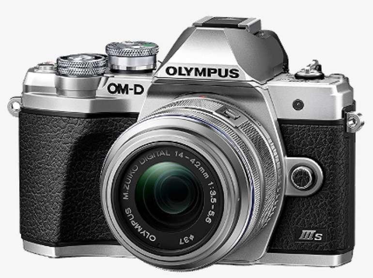 Olympus OM-D E‑M10 Mark IIIs 1442 II R Kit + 3 Objektive für 699€ inkl. Versand (statt 1072€)