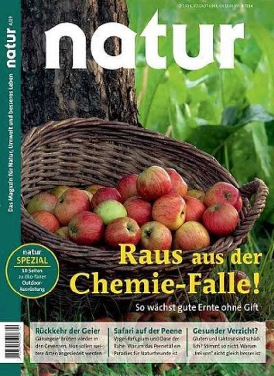 """Zeitschrift """"Natur"""" im Jahresabo für 91,88€ + z.B. 90€ Bestchoice Gutschein"""