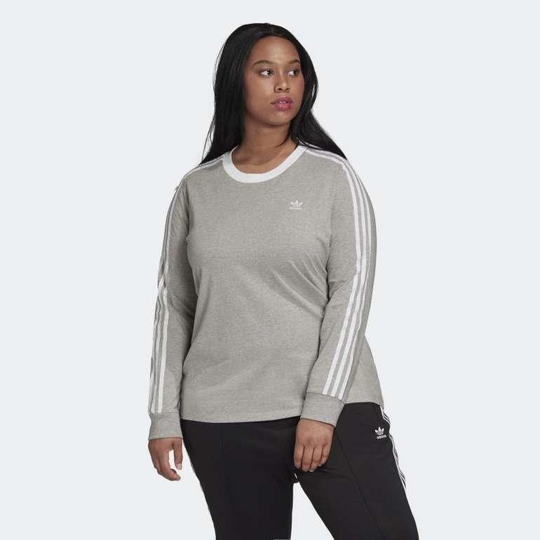 Adidas 3-Streifen Longsleeve (große Größen) für 17,15€ inkl. Versand (statt 23€) - Creators Club!