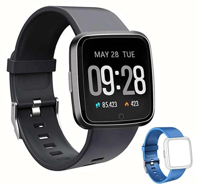 Zoluikis Smartwatch mit IP67-Schutz (Android und iOS) für 29,23€ (statt 43€)