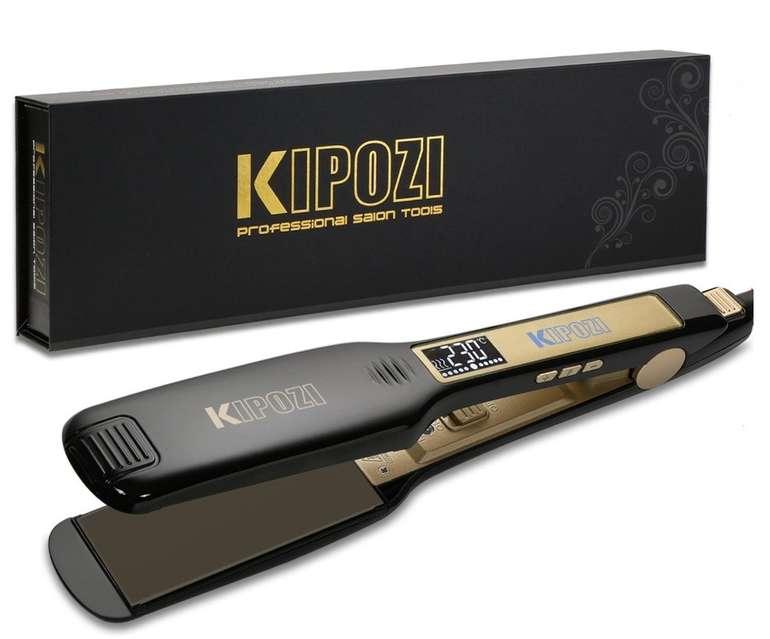 Kipozi Profi Glätteisen mit Ionen Technologie und extra breiten Platten für 17,01€ (statt 32€)