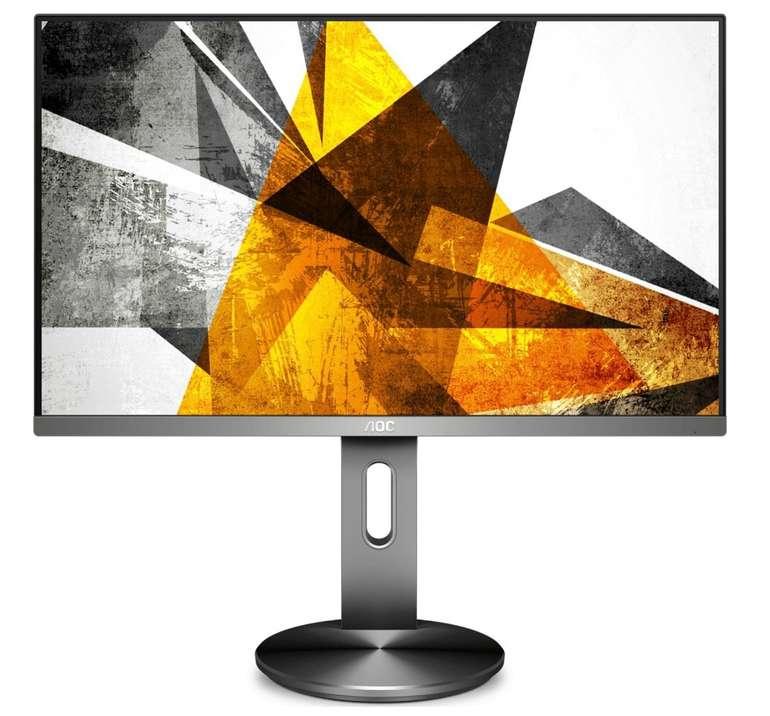 """AOC """"U2790PQU"""" Monitor (27"""", UHD, höhenverstellbar, 60Hz) für 270€ inkl. Versand (statt 306€)"""
