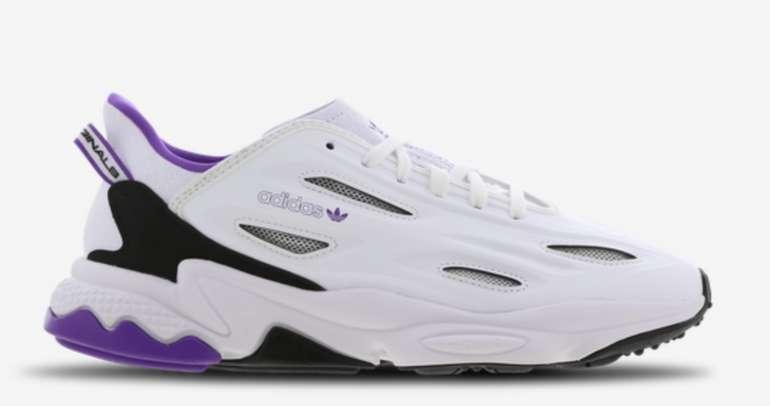 adidas Ozweego Celox Herren Schuhe in Weiß/Lila für 69,99€inkl. Versand (statt 120€)